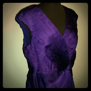 Adrianna papell occasions purple dress 12p